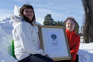 Guinness godkände rekordet